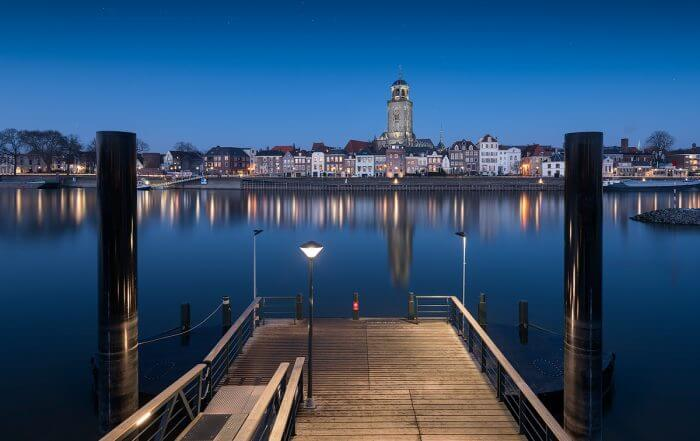 Deventer_blue_hour